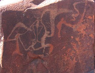 Burrup rock