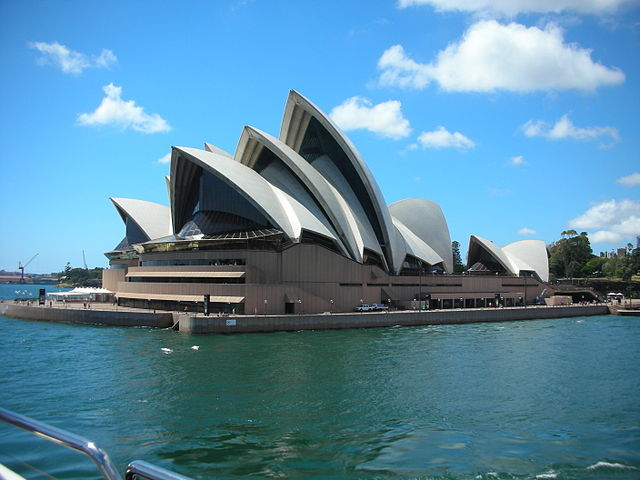 Sydney Opera House, NW view