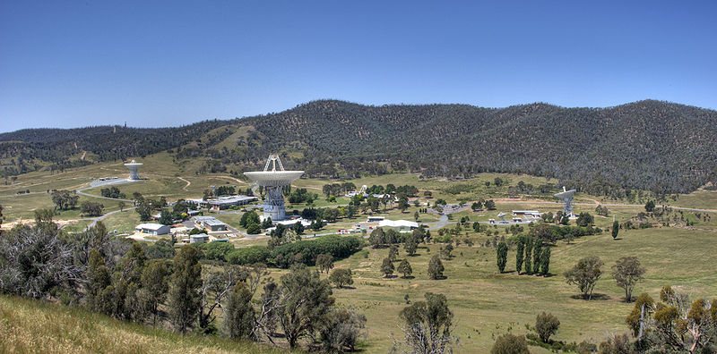 Canberra Tracking Station