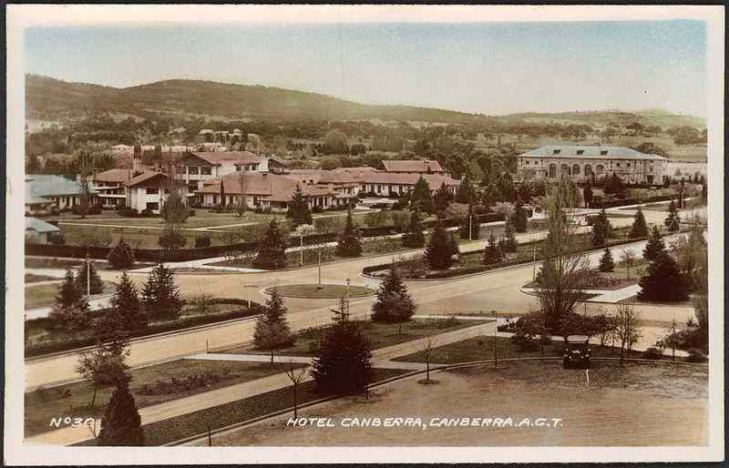 Hotel           Canberra and Albert Hall
