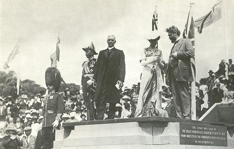 Lady Denman naming Canberra