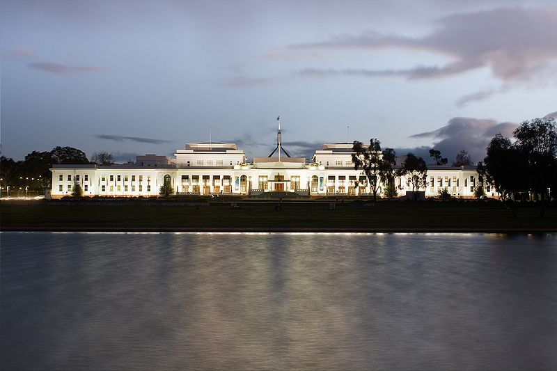 Old Parliament House           Canberra Dusk