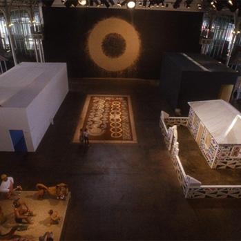 Pompidou exhibit room