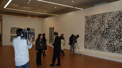 Kngwarreye exhibit in Japan