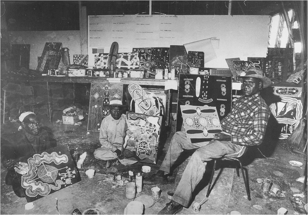 Men's painting room, Papunya